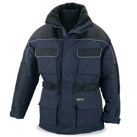 abrigo trabajo