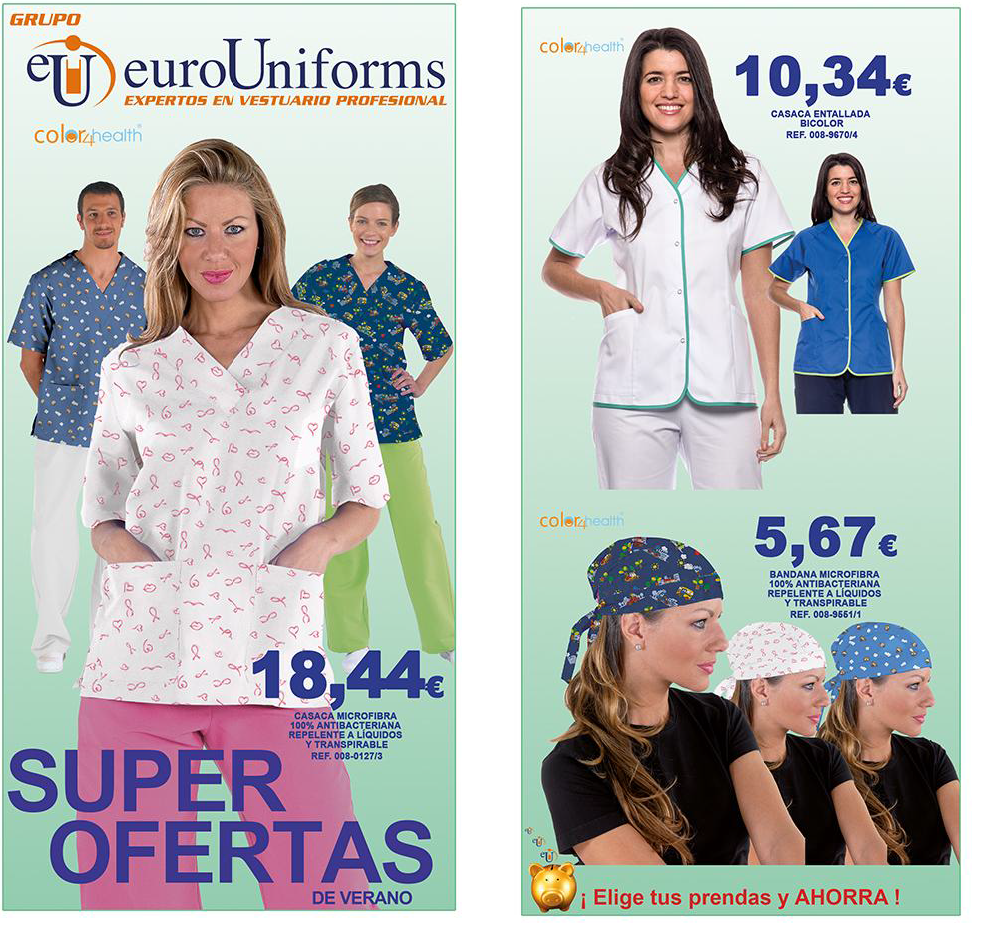 uniformes - microfibra - medicos