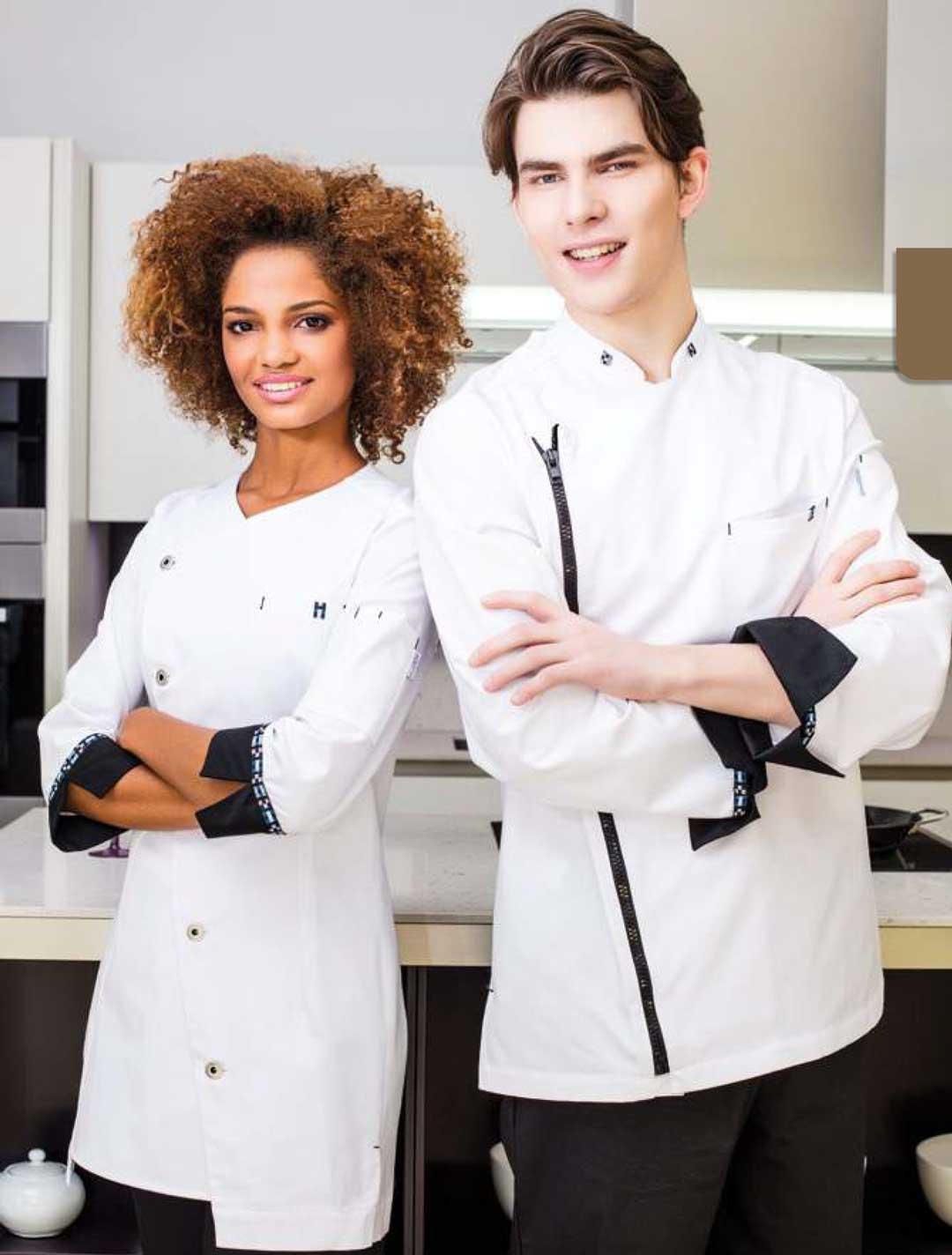 Chaquetas de cocina para hombre y mujer